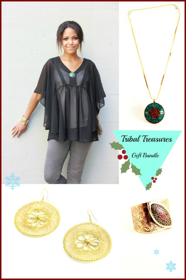 tribal gift bundle with xmas